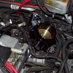 CFM throttle body