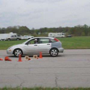 First Ever Autocross, Was a School too