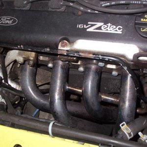 "4-1 Race Headers down to a 2.5"" Collecter"