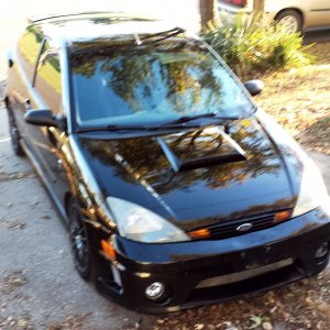 2004 Black ZX3 Premium Roush Stage 2