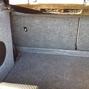 2004 Black ZX3 Premium Roush Stage 2 Subwoofer/Trunk