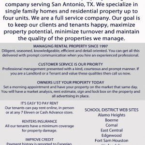 Rent Collection Services San Antonio TX