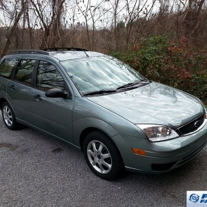 Green ZXW with low mileage