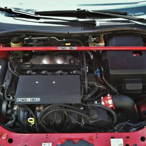 Cleaned engine bay