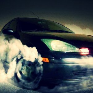 Ford Focus SE Burnout