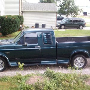 "'95 F150 extended cab pickup; going to do a 2/4"" suspension drop"