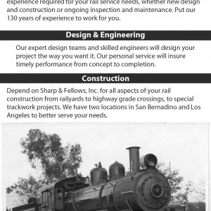 City Of Industry Railroad Construction