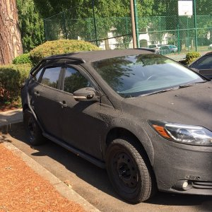 13 Ford Focus Military Edition