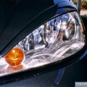 Mean headlight