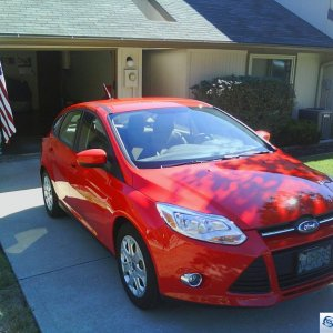 Race Red - 2012 SE Hatchback