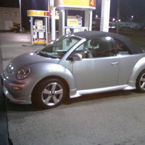 The wife's car 2004 Volkswagen New Beetle Turbo convertible