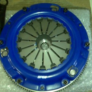 Spec Stg 3 Clutch and Flywheel