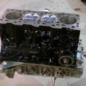 Short block in my garage