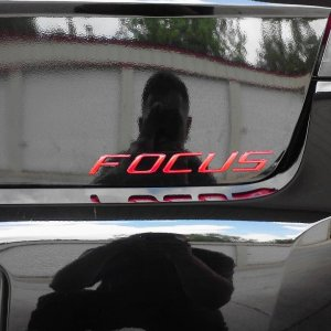 Painted Focus Badge