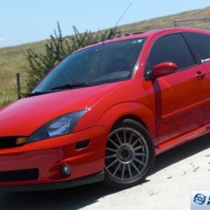Red SVT Focus