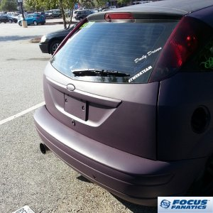 Plasti-Dipped Purple