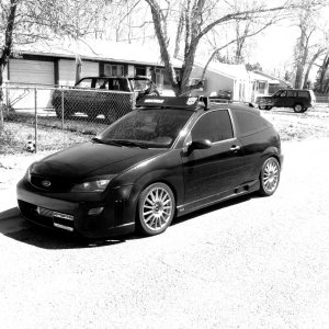 2006 Black-ed out Boosted ZX3