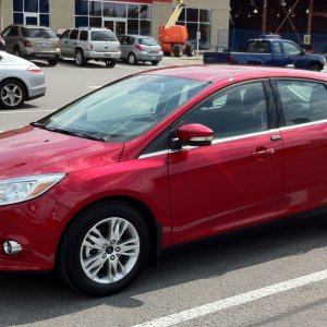 Candy Red 2012 SEL Hatchback