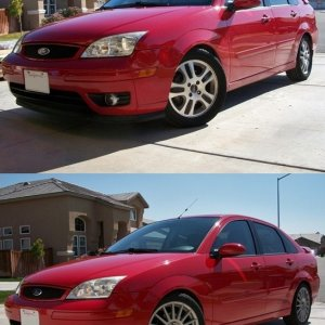 Before (stock 16s) and After (SVT 17s)