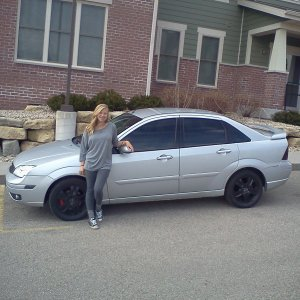 ex girl and my car.