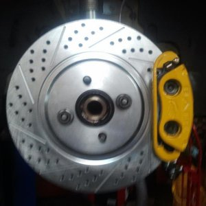 Powder Coated Big Baer Brakes