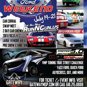 FocusFest 2013 & Fun Ford Weekend Banner