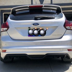 2014 Ford Focus ztech kit