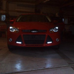 New DRL's and LED Parking Lights