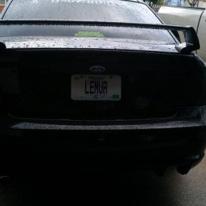 Tinted the 3rd brake light (: 03/14/2012