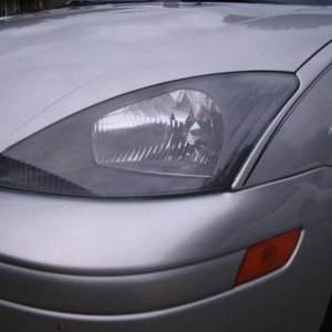 bought dark grey headlights from a FF user. very subtle, but nice change