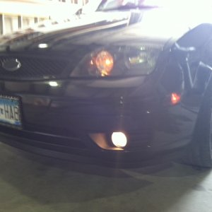 Blacked out Foglight bezels
