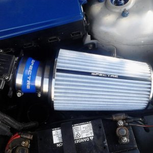 "BIGGEST air filter ive seen in a focus BY FAR. its a 10.5""x6"""