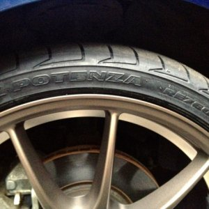 "-18"" Kazera-R Aluminum Wheels -Bridgestone RE760 Sport Tires"
